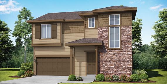 Covington Homes Community Cottage Garden Series Foxglove 503