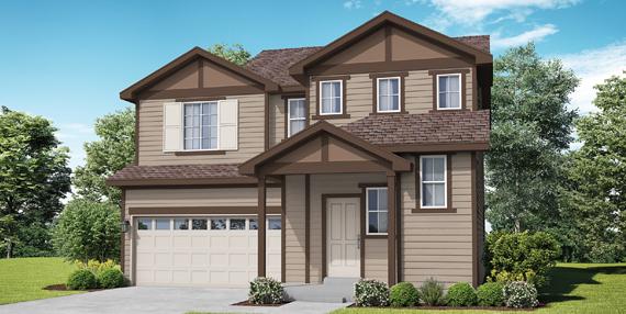 Covington Homes Community Cottage Garden Series Primrose 501