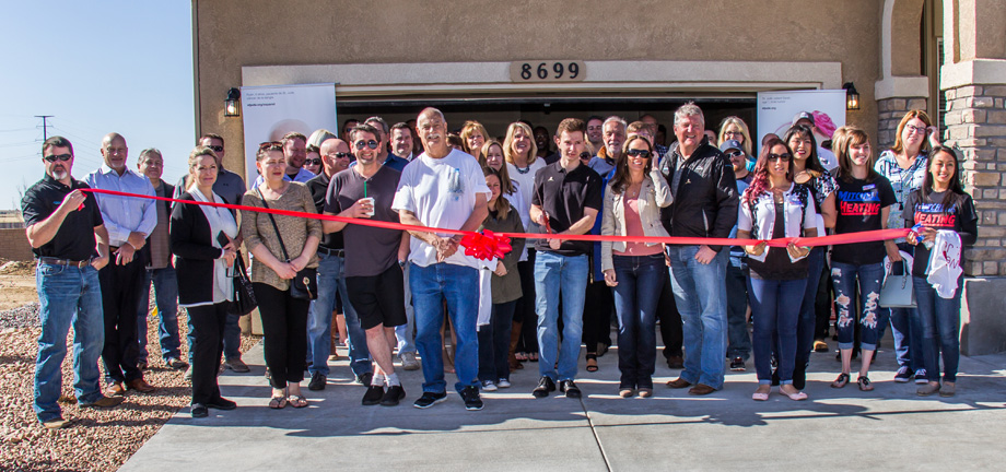 home building for charity